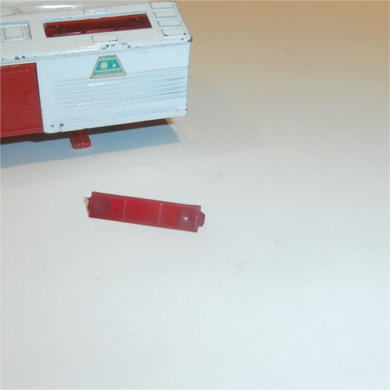 Dinky Toys 359 360 Eagle Transporter Pod Red Roof Window