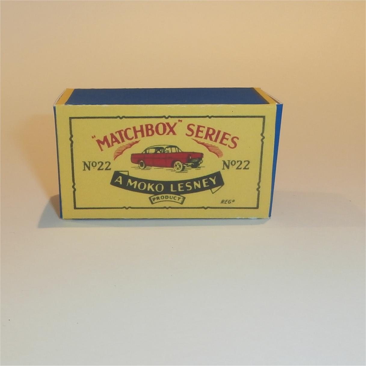 Repro box MATCHBOX 1:75 Nº 22 vauxhall CRESTA