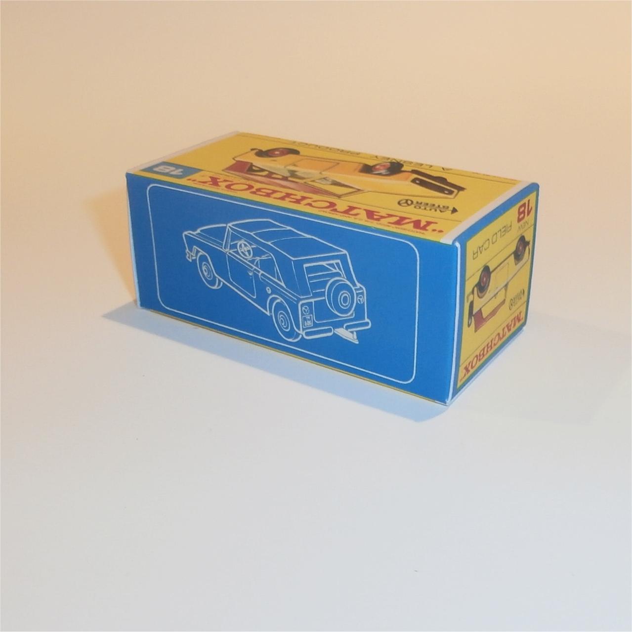 Repro box Matchbox 1:75 nº 18 Field Car