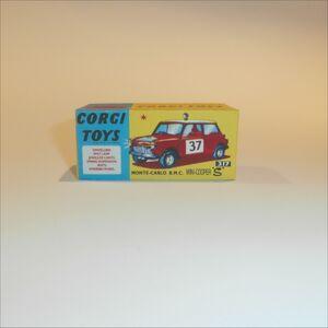 Corgi Toys  339 Morris Mini Cooper #177 empty Repro Box