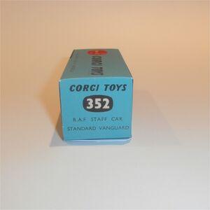 Corgi Toys  352 Standard Vanguard R.A.F Staff Car empty Repro Box