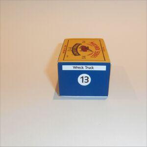 Repro box Matchbox Superfast nº 61 Wreck Truck