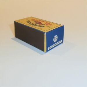 Matchbox Lesney 52 a Maserati Racing Car custom Yellow empty Repro D style Box