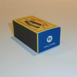 Matchbox Lesney 16 b Atlantic Rotinoff Trailer empty Repro C style Box