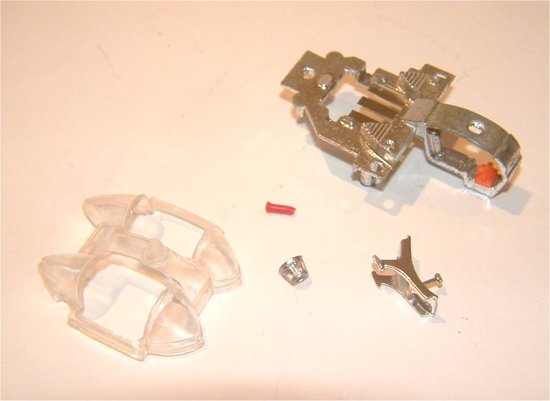 267 Corgi Toys Batmobile cockpit parts