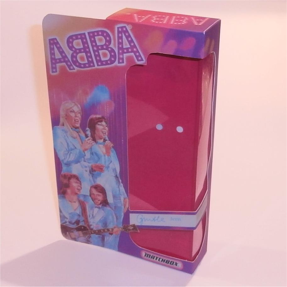 Matchbox Abba Doll Box Anna - Front