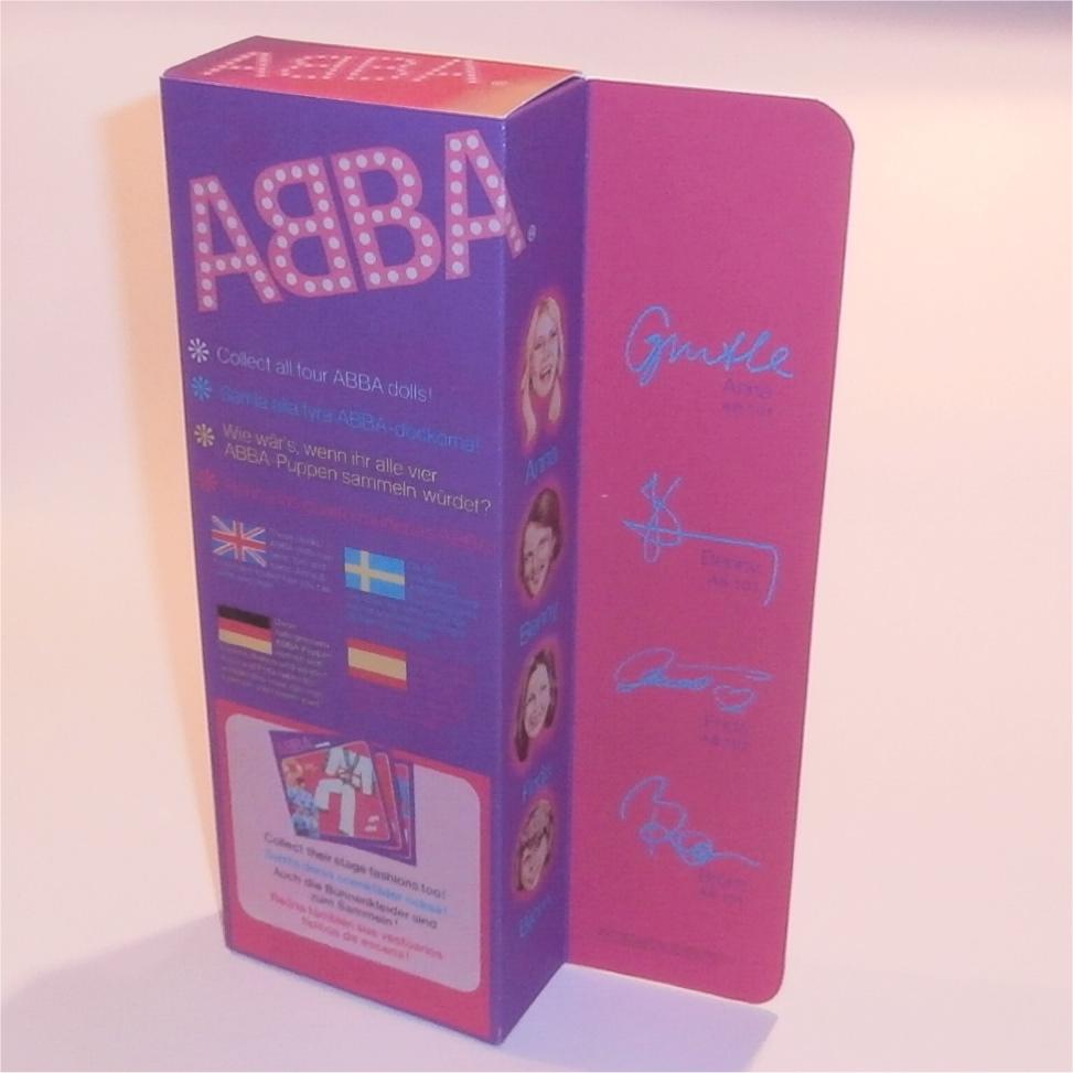 Matchbox Abba Doll Box Anna - Rear