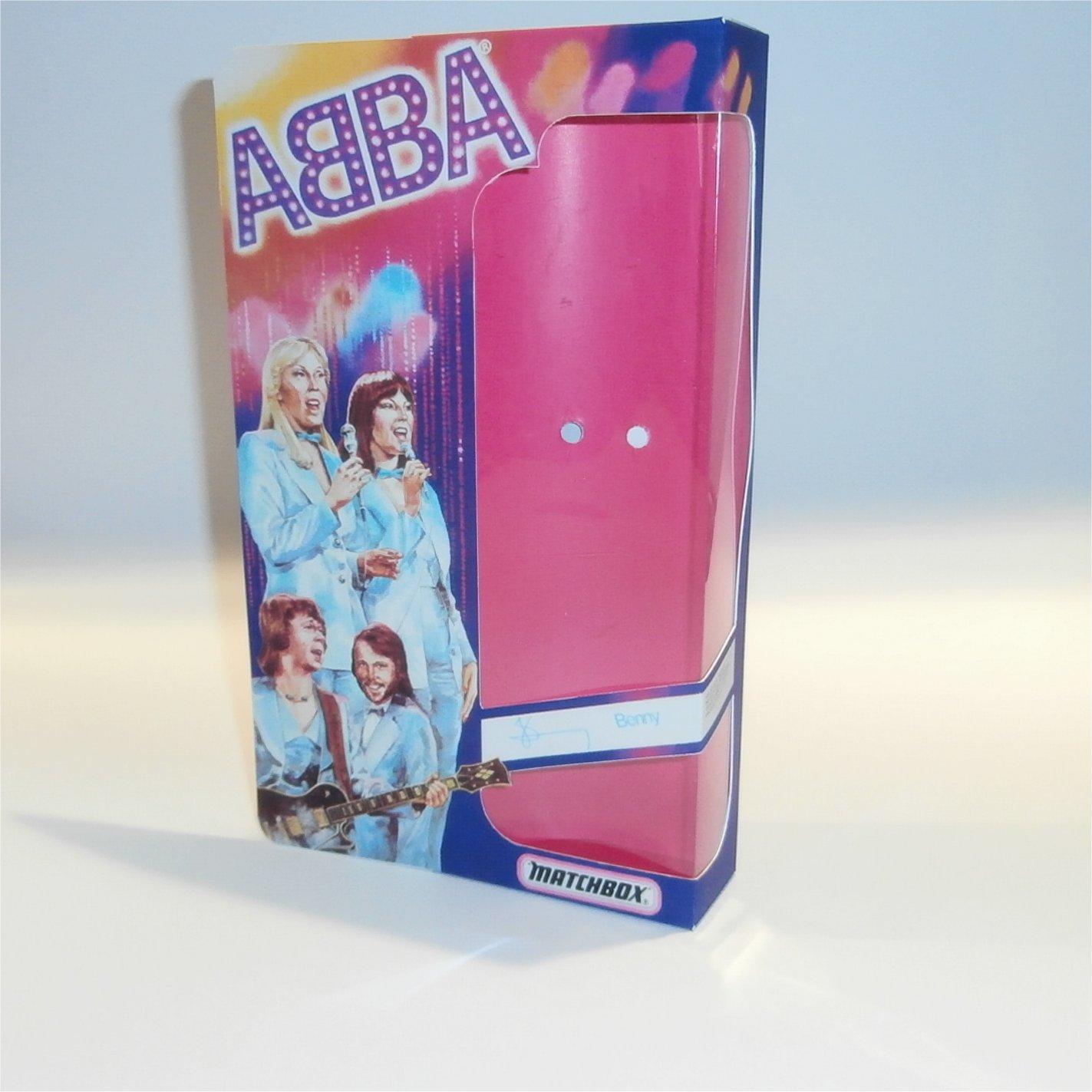 Matchbox Abba Doll Box Benny - Front