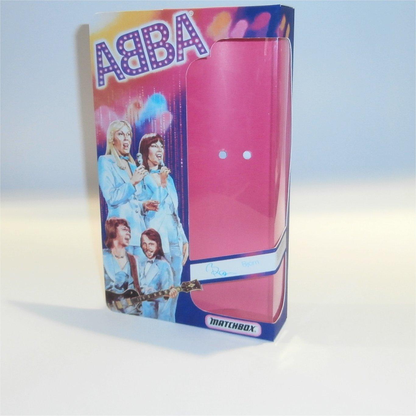 Matchbox Abba Doll Box Bjorn - Front