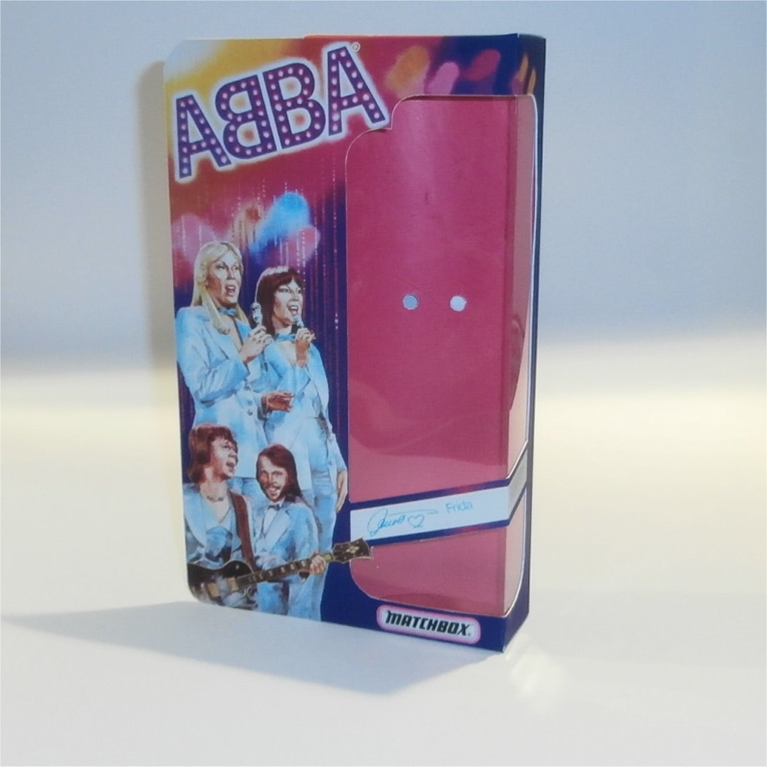 Matchbox Abba Doll Box Frida - Front