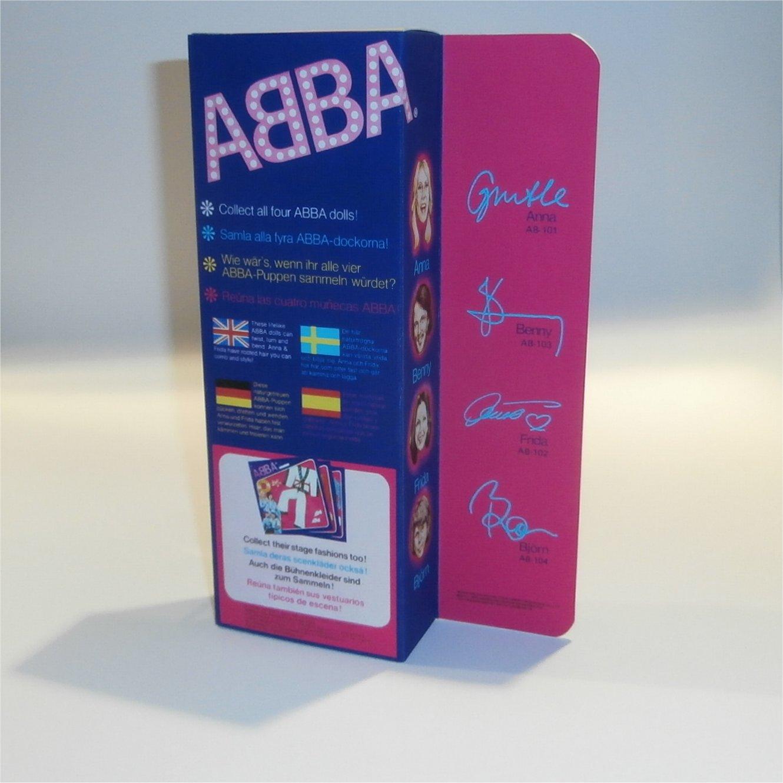 Matchbox Abba Doll Box Frida - Rear