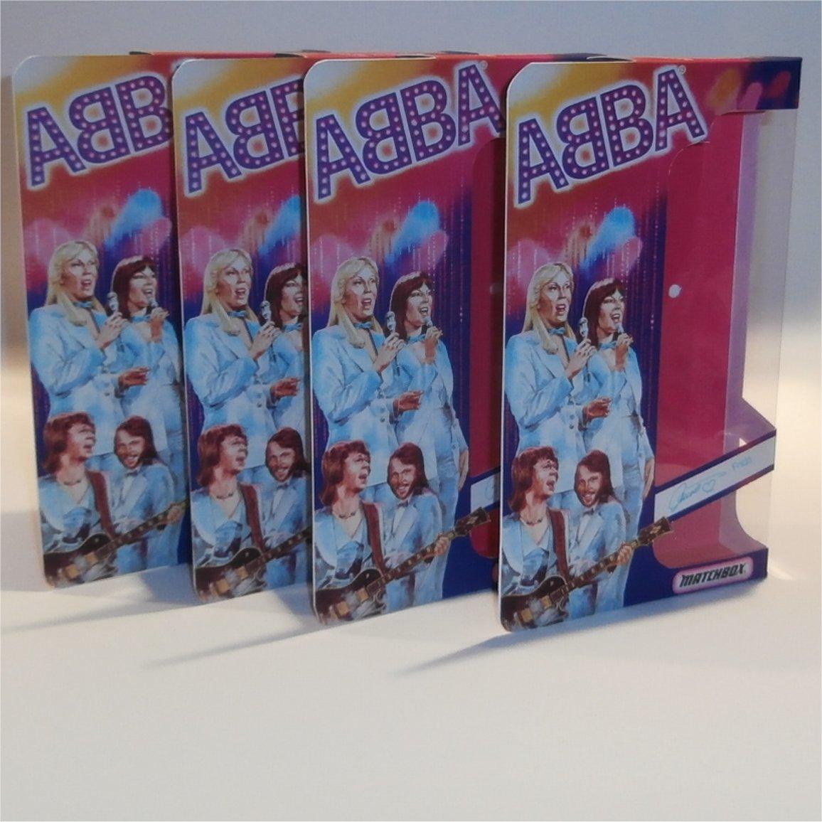 Matchbox Abba Doll Box Set of 4 - Front